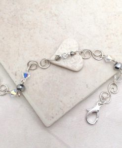 True lov Sterling wire Bracelet