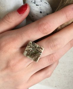 Garden diamond Shape Ring