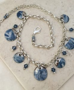 Blue Shell Beach necklace