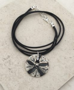 blooming Flower circle Necklace